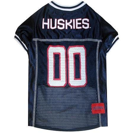 UConn Huskies NCAA Dog Jersey