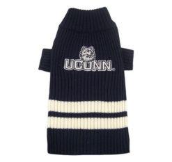 UConn Huskies Turtleneck Dog Sweater