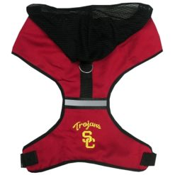 USC Trojans Mesh Dog Harness