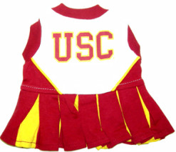 USC Trojans NCAA dog cheerleader dress