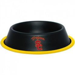 USC Trojans Stainless Dog Bowl