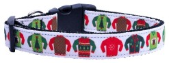 Ugly Dog Sweaters adjustable dog collar
