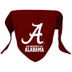University of Alabama mesh dog bandana