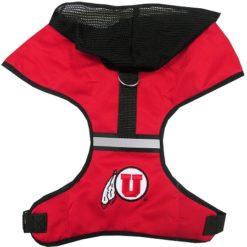 Utah Utes Mesh Dog Harness