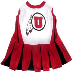 Utah Utes NCAA dog cheerleader dress