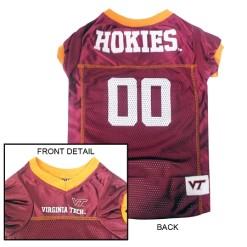 Virginia Tech NCAA dog jersey