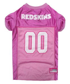 Washington Redskins Pink NFL Dog Jersey
