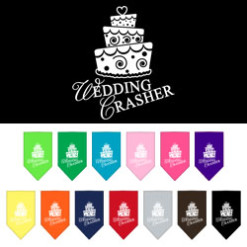 Wedding Crasher dog bandana