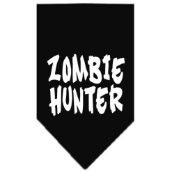 Zombie Hunter dog bandana black