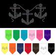 boat anchors and rope bandana colors