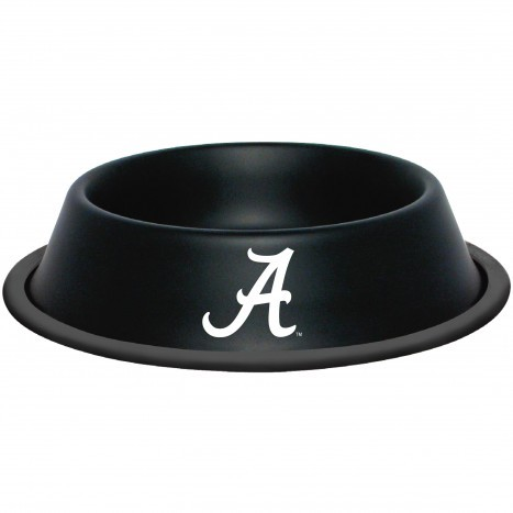 Alabama Crimson Tide NCAA Stainless Dog Bowl