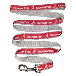 Alabama Crimson Tide nylon dog leash