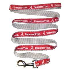 Alabama Crimson Tide nylon dog leash