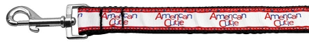 American Cutie Nylon Webbing Dog Leash