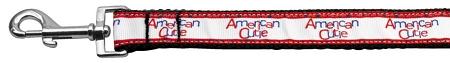 American Cutie Nylon Webbing Dog Leash