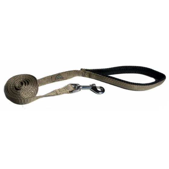 American River Beige Dog Leash