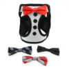 American River Choke Free Harness Tuxedo Design