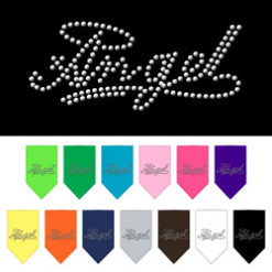 Angel halo dog bandana colors