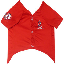 Angels dog jersey front