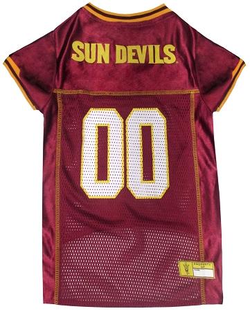 Arizona State Universy Sun Devils dog jersy