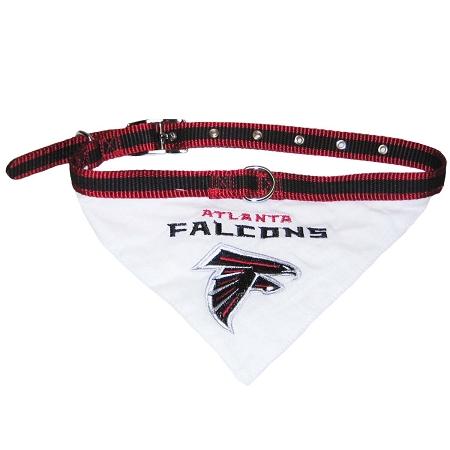 Atlanta Falcons NFL dog bandana and collar