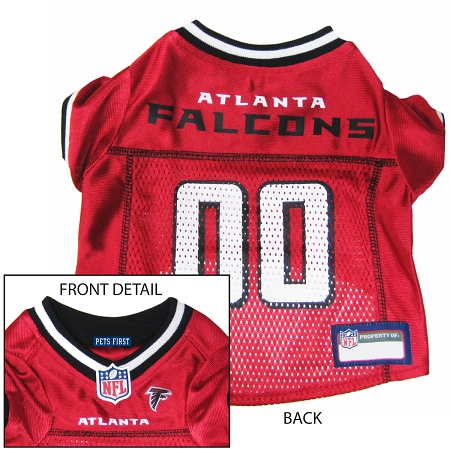 Atlanta Falcons NFL dog jersey