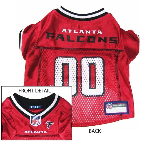 Atlanta Falcons NFL dog jersey