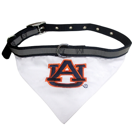 Auburn Tigers NCAA Dog Collar and Bandana