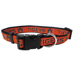Auburn Tigers NCAA Nylon Dog Collar