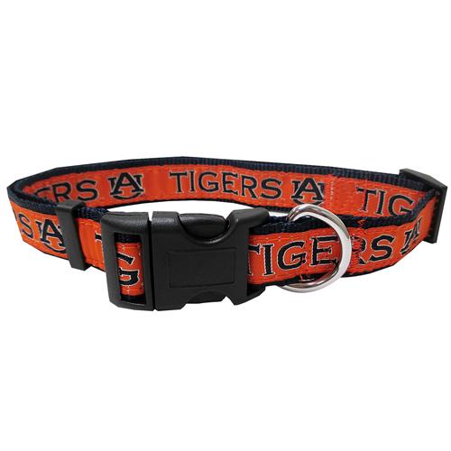 Auburn Tigers NCAA Nylon Dog Collar