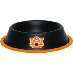 Auburn Tigers NCAA Stainless Black Dog Bowl