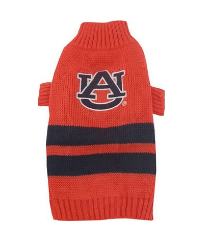 Auburn Tigers Turtleneck Dog Sweater