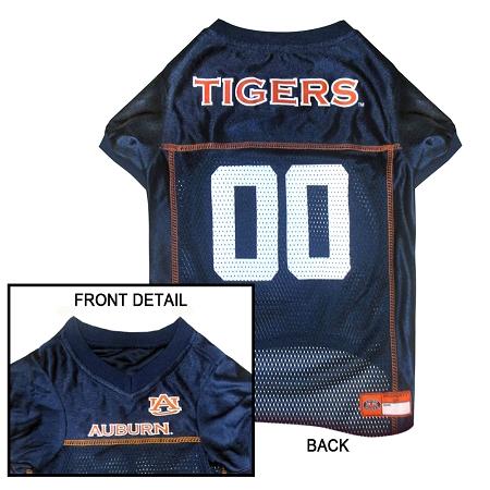 Auburn Tigers dog jersey