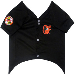 Baltimore Orioles MLB dog jersey front