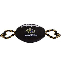 Baltimore Ravens Football Dog Toy