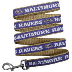 Baltimore Ravens NFL Nylon Dog Leash