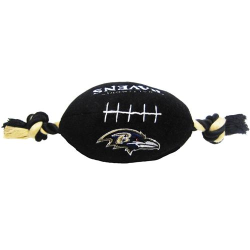 Baltimore Ravens NFL plush dog football toy