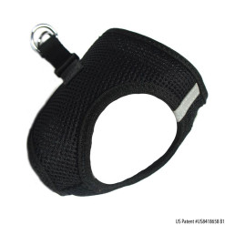 Black American River Ultra Choke Free Dog Harness