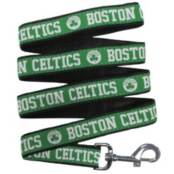 Boston Celtics NBA Nylon Dog Leash
