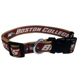 Boston Colleage Eagles adjustable dog collar