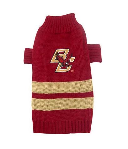 Boston College Eagles NCAA Turtleneck Dog Sweater