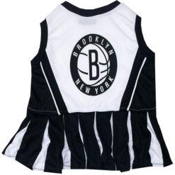 Brooklyn Nets NBA Dog Cheerleader Dress