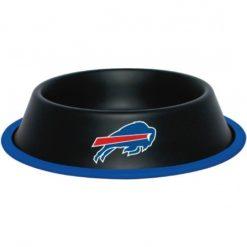 Buffalo Bills NFL Stainless Black Dog Bowl