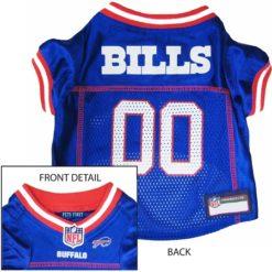 Buffalo Bills NFL dog jersey