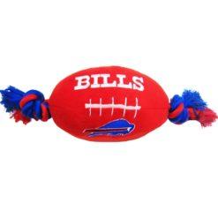 Buffalo Bills NFL plush football dog toy