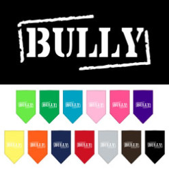Bully dog bandana