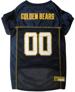 California Golden Bears dog jersey