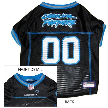 Carolina Panthers NFL dog jersey