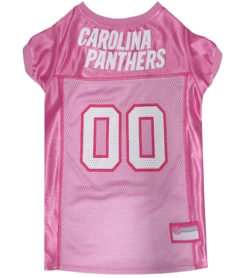 Carolina Panthers Pink Dog Jersey