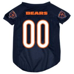 Chicago Bears NFL dog jersey alternate style